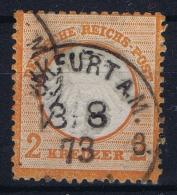 Deutsche Reich:  Mi Nr 15 Gestempelt/used/obl. - Germany