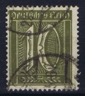 Deutsche Reich:  Mi Nr 178 Gestempelt/used/obl. 1921 - Gebraucht