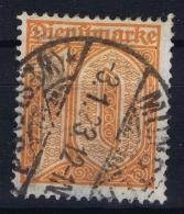 Deutsche Reich:  Mi 65 Gestempelt/used/obl. 1921  Has A Thin