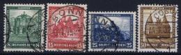 Deutsche Reich:  Mi 459 - 462  Gestempelt/used/obl. 1931