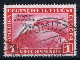 Deutsche Reich:  Mi 496  Gestempelt/used/obl. 1933 - Luftpost