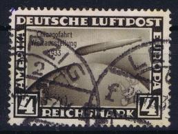 Deutsche Reich:  Mi 498  Gestempelt/used/obl. 1933 Spots - Luftpost