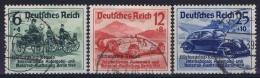 Deutsche Reich:  Mi 695 - 697  Gestempelt/used/obl. 1939 - Deutschland