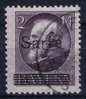 Saar Mi Nr 28 Gestempelt/used/obl. - Gebraucht