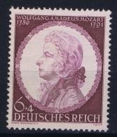 Deutsche Reich: Mi Nr 810 II  Punkt Im Überrand Postfrisch/neuf Sans Charniere /MNH/**  1941 - Allemagne