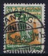Deutsche Reich: Danzig Mi Nr 90 Ersttagstempel Gestempelt/used/obl. 16-10-1921 - Germany