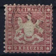 Wurtemberg : Mi 24  Gestempelt/used/obl. 1862 - Wuerttemberg