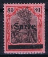 Saar Mi Nr 16 MH/* Falz/ Charniere - 1920-35 Saargebiet – Abstimmungsgebiet