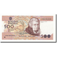 Portugal, 500 Escudos, 1993, KM:180f, 1993-11-04, SUP+ - Portugal