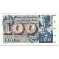 Suisse, 100 Franken, 1972, KM:49n, 1972-01-24, TTB+ - Suiza