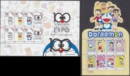 Indonesia - Indonesie New Issue 20-05-2016 (Vellen Doraemon)  ZBL 3347C-3347N - Indonesia