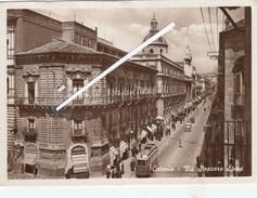 CATANIA   -VEDUTA-1940 TRAM - Catania
