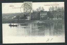 Herstal. Le Passage D´eau De La Lèche. E. Dumont.  2 Scans - Herstal