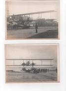 Lot De 4 Photos D'un Hydravion - Aviation