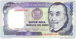 PERU 10000 SOLES DE ORO 1981 P-124 AU/UNC  [PE124] - Peru