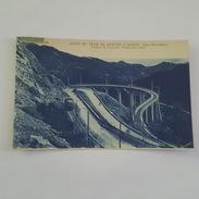 Ligne Du Tramway De Menton A Sospel - Viaduc Du Caramel, Vallée Du Carei - Bel état - Autres Communes