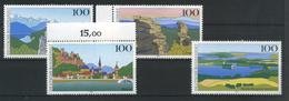 ALLEMAGNE FEDERALE   Images De L'Allemagne   N° Y&T  1572  à  1575  **