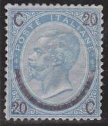 ITALIE No 22 COTE: 550  (SASSONE 1250 EUROS)