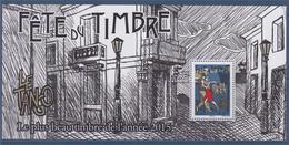 = Bloc Souvenir Le Plus Beau Timbre De L'année 2015 Bloc Neuf Timbre Le Tango Fête Du Timbre 2015 (n°4982) - Foglietti Commemorativi