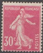 France 1924-26 N° 191 MH Semeuse  Camée Fond Plein (E9) - 1906-38 Sower - Cameo