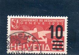 SUISSE 1935-8 O - Suisse