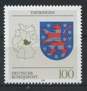 ALLEMAGNE FEDERALE   Armoierie  Thüringen     N° Y&T  1586  **