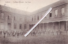 LOKEREN - Collège Saint-Louis - La Cour. - Lokeren