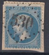 N° 22   GC 530  SEINE-INFERIEURE  BOOS  A5 - 1849-1876: Periodo Classico