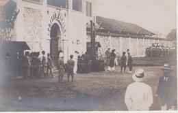 Carte Photo. Prison Hanoi. Exécution Capitale. Guillotine - Vietnam