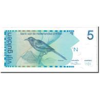 Netherlands Antilles, 5 Gulden, 1986, KM:22a, 1986-03-31, NEUF - Nederlandse Antillen (...-1986)