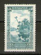 N° 118**_Bleu-vert Au Lieu De Bleu (?)_noir Sur Gomme - Algérie (1924-1962)