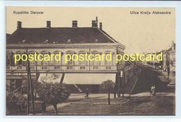 KUPALISTE DARUVAR, CROATIA - ULICA KRALJA ALEKSANDRA. OLD POSTCARD C.1910 #684. - Croatia
