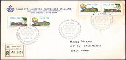 ATHLETICS - ITALIA ROMA 3.09.1987 - REGISTERED - CAMPIONATI MONDIALI DI ATLETICA - GIORNATA DEGLI OLIMPIONICI D'ITALIA - Atletica