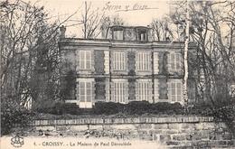 CROISSY - La Maison De Paul Déroulède - Croissy-sur-Seine