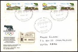 ATHLETICS - ITALIA ROMA 29.08.1987 - REGISTERED - CAMPIONATI MONDIALI DI ATLETICA - APERTURA - Atletica