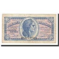 Espagne, 50 Centimos, Undated (1938), KM:96M, TTB - 1-2 Pesetas