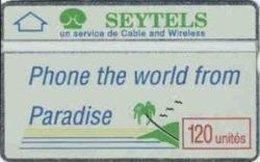 SEYCHELLES : SEY-3a (011E)  Phone From The World - Seychelles