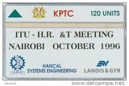 KENYA : KENO1 120u ITU Meeting October 96 MINT (1° And Only L&G Card For  KENIA) - Kenya