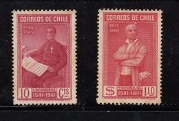 Chile 1941 Santiago - Used Set 2