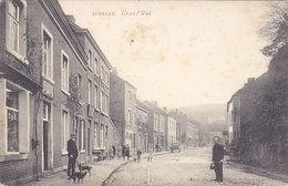 Jemelle - Grand'Rue (animée, Chiens, Phototypie Marco Marcovici 1907) - Rochefort