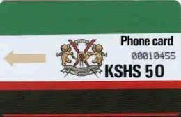 KENYA : KEN01 KSHS 50 Slashed Zeroes MINT !!   FIRST ISSUED CARDS !! Ctrl 10455 - Kenya