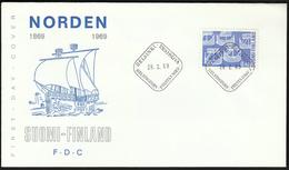 Finland 1969 / NORDEN 1969 / Joint Issues / Ships - Europäischer Gedanke