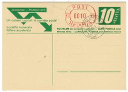 Suisse // Schweiz // Switzerland //  Entier Postaux  // Entier Postal  Oblitéré Et Avec Carte Réponse Neuve - Stamped Stationery