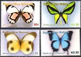PAPUA NEW GUINEA 2006 Butterflies, Insects, Fauna MNH
