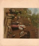 Les Petits Savoyards Veritable Gravure De 1945  J.J.Biedermann (23cm X 16 Cm) Bon Etat - Stampe & Incisioni