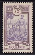 Océanie N° 34 Neuf (*) - Oceania (1892-1958)