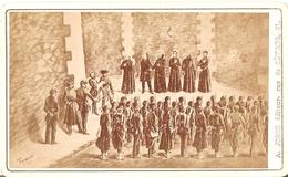 Foto/druk Op Hard Karton Photo (6,5 X 10,5cm) Paris Assassinat Des Otages Dans La Prison De La Roquette Mai 1871 - Chiese