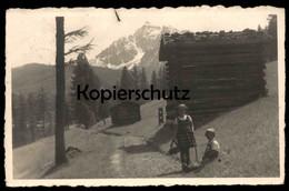 ALTE POSTKARTE ALPEN BEI INNSBRUCK Kinder Enfants Children Cpa Ansichtskarte Postcard AK