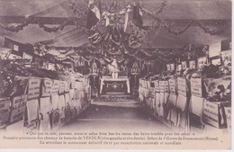 55 - VERDUN -  OSSUAIRE PROVISOIRE DES CHAMPS DE BATAILLE  EN ATTENDANT LE MONUMENT DOUAUMONT