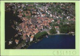 10568989 Caslano Caslano Fliegeraufnahme X 1995 Caslano